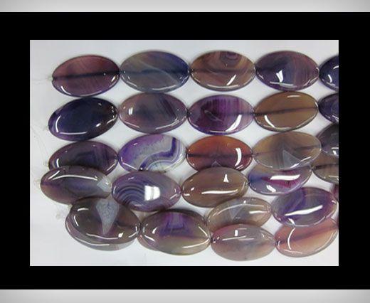 OVAL Purple Agate NS-060