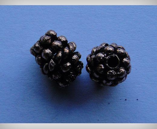 Perle e catene placcati in rame anticato - Perle anticate