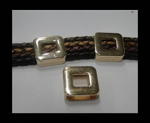 CA-4665-Rose Gold-Zamac parts for leather