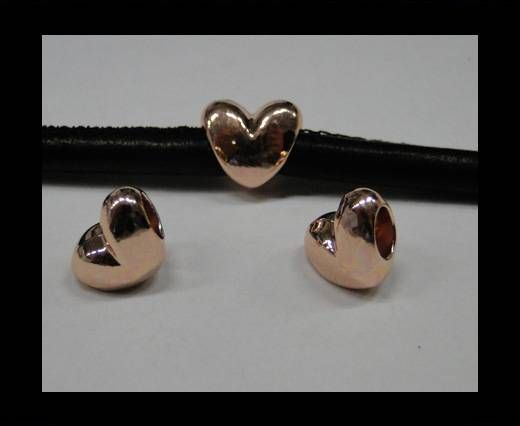 Zamak part for leather CA-4722-Rose gold
