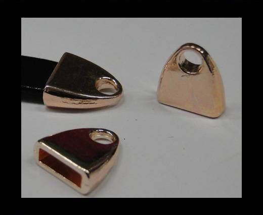 CA-4724-Rose gold-Zamac parts for leather