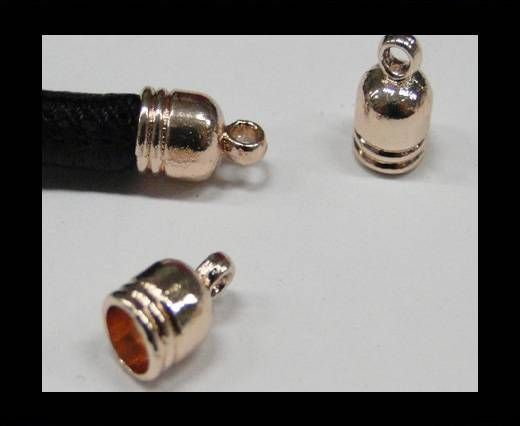 Zamak part for leather CA-4754-Rose gold