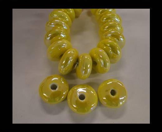 CB-Flat Round - Yellow AB