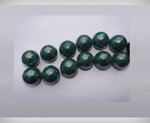 Ceramic Beads-25mm-Green