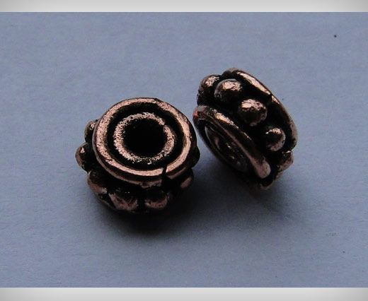 Copper Antique Small Sized Beads SE-1752