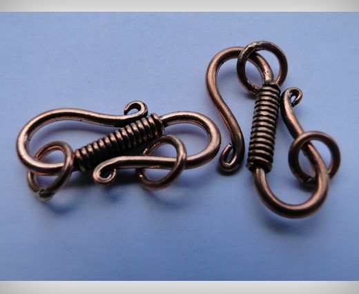Copper Toggles (Closures, S-Hooks etc) SE-1765