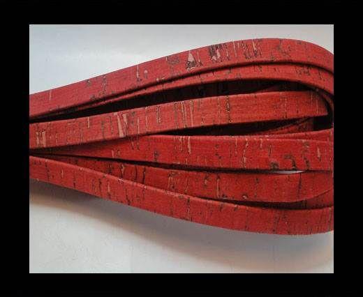 Cork Flat-10mm-Fuxia