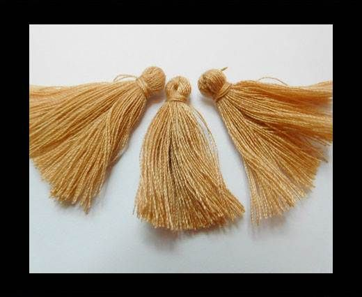 Cotton Tussels 3 cms - Brown