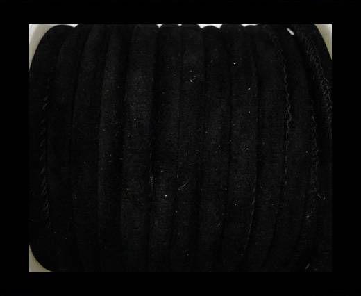 Eco-Nappa 6mm-Fabric Style- black