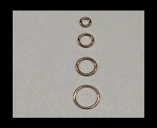 Brass jump ring FI-7029-6mm-GOLD