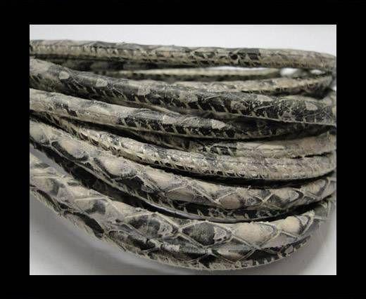 Fine Nappa-Snake-style-Rock -4mm