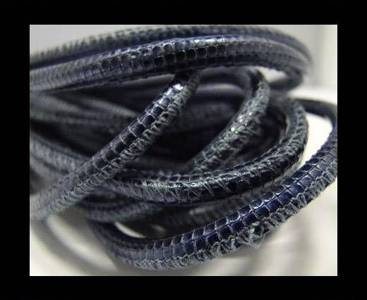 Fine Nappa-Snake-style-Blue -4mm