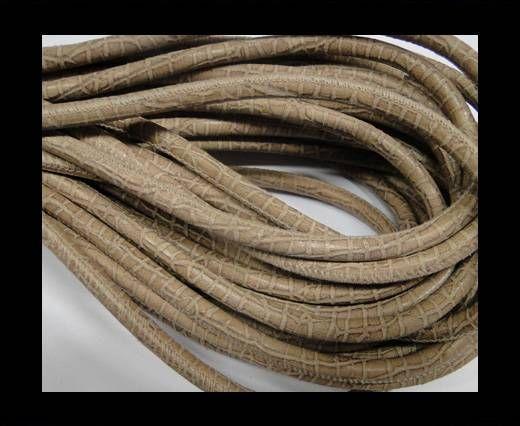 Fine Nappa-Snake-style-Brown Beige-6mm