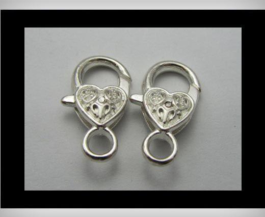 Fish Locks FI7004 - Silver - 29 mm