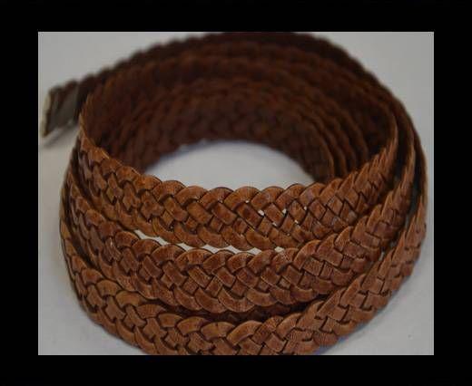 Flat braided cords 14 mm - SE/PB/10