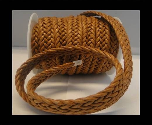 Flat braided Special style-16mm-Brown