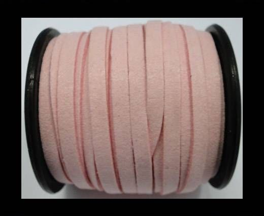Flat Suede Cord - 5mm - Pink