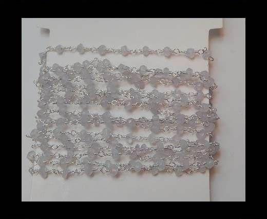 Gemstone Chains - White Rainbow