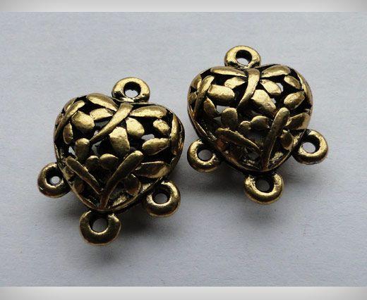 SE-1704-Gold Antique Large Sized Beads