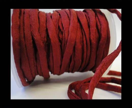 Habotai silk cords - 4680 - Deep Burgundy