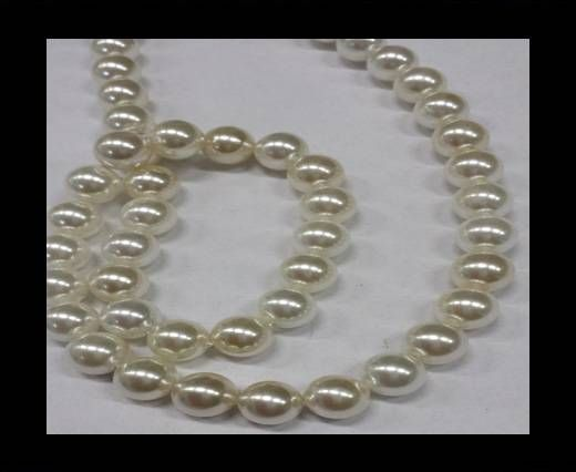 High quality pearls 8 mm White