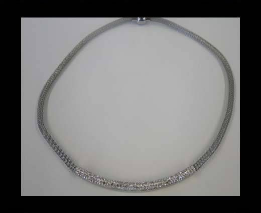 High Quality Steel Neclace-number 19