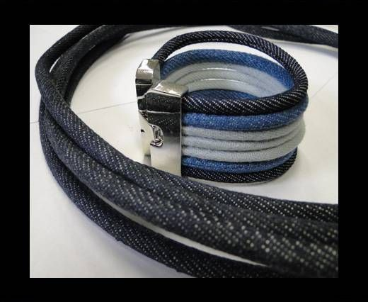 Jeans Cords-6mm-Dark blue style 3