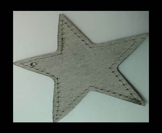 KC-Key Cord Star Shape 8m GREY