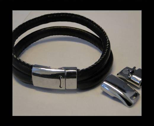 Locks for leather/Cords-ZAML-67-Steel-10*5mm