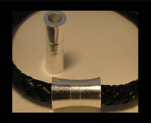Zamak magnetic claps MGL-11-6mm-Silver