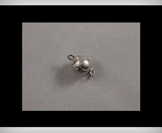 Magnetic Locks-Rhodium Plated -HMG-06