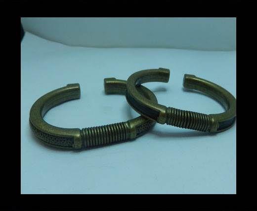Zamak magnetic claps MGL-399 - 5mm - Antigold