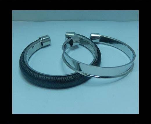 Zamak magnetic claps MGL-411 - 6mm - Steel