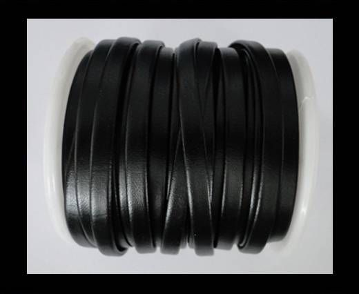 Nappa Flat PU -Black-5mm