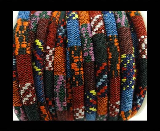 Nappa leather fabric multi style-6mm-color1 A