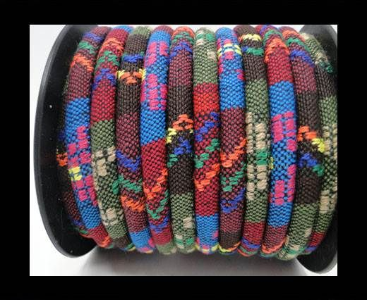 Nappa leather fabric multi style-6mm-Color 11