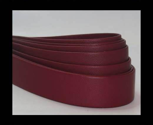 Nappa Leather Flat-Purple-20mm