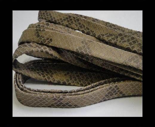 nappa snake style beige 10 mm