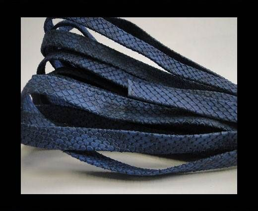 nappa snake style blue 10 mm