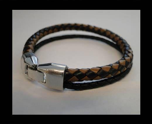 Non Steel Leather Bracelets MLBSP-4