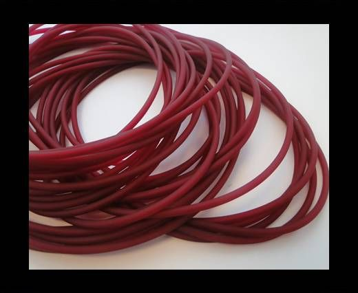 PVC-Round-3mm-Dark Fuchsia