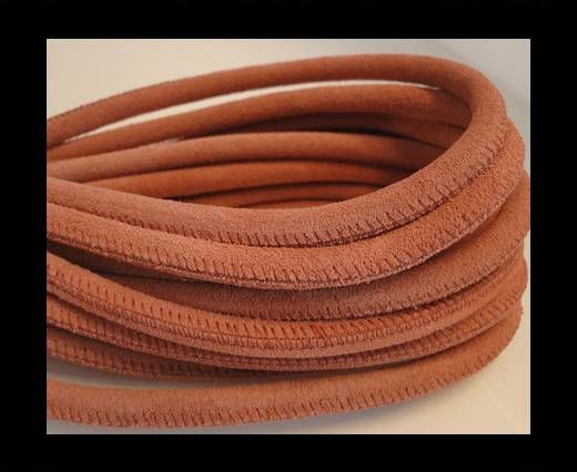 Buy Round stitched nappa leather cord Suede Round-Lobster -6mm at wholesale price