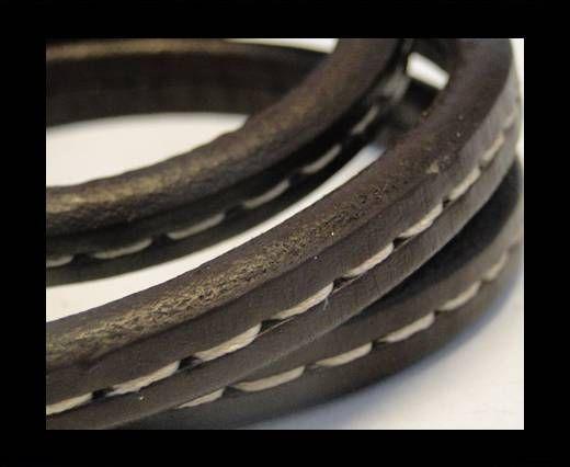 Regaliz-Leather-Stitched Style-Coffee
