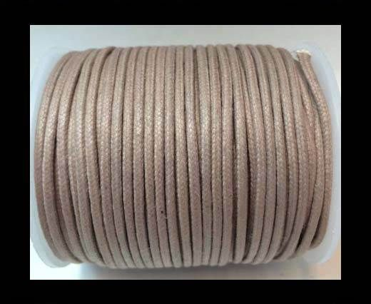 Round Wax Cotton Cords - 2mm - Lavender