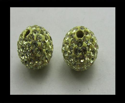 Shamballa-Bead-12mm-Lime
