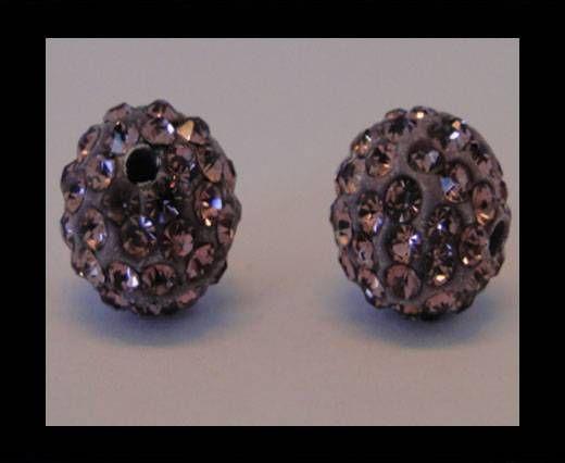 Shamballa-Bead-10mm-Light Amethyst