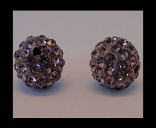 Shamballa-Bead-12mm-Light Amethyst