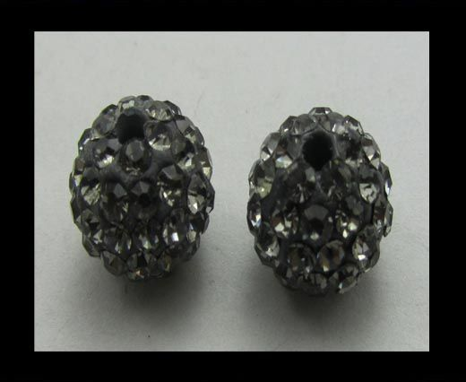 Shamballa-Bead-6mm-Smokey quartz