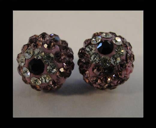 Shamballa-Flower-10mm-Light Amethyst