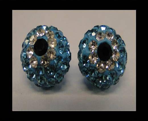 Shamballa-Flower-10mm-Turquoise